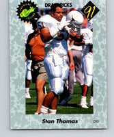1991 Classic #20 Stan Thomas NFL Football