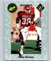 1991 Classic #25 Mike Dumas NFL Football