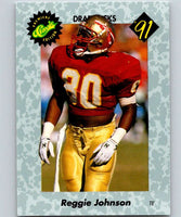 1991 Classic #27 Reggie Johnson NFL Football