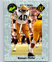 1991 Classic #28 Roman Phifer NFL Football
