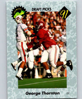 1991 Classic #33 George Thornton NFL Football