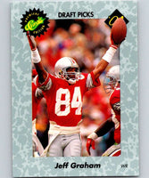 1991 Classic #43 Jeff Graham NFL Football