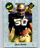 1991 Classic #46 Chris Zorich NFL Football