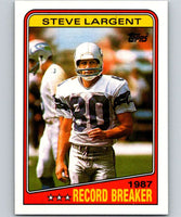 1988 Topps #3 Steve Largent Seahawks RB NFL Football