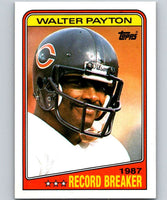 1988 Topps #5 Walter Payton Bears RB NFL Football