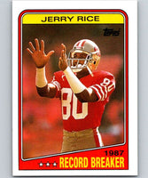 1988 Topps #6 Jerry Rice 49ers RB NFL Football