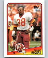1988 Topps #9 George Rogers Redskins NFL Football