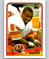 1988 Topps #14 Ricky Sanders RC Rookie Redskins NFL Football