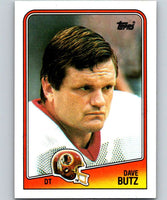 1988 Topps #18 Dave Butz Redskins NFL Football