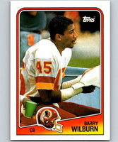 1988 Topps #21 Barry Wilburn Redskins NFL Football