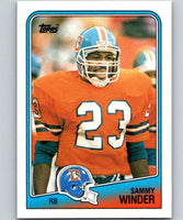 1988 Topps #24 Sammy Winder Broncos NFL Football