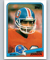 1988 Topps #25 Vance Johnson Broncos NFL Football