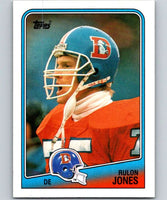 1988 Topps #32 Rulon Jones Broncos NFL Football