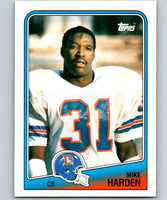 1988 Topps #36 Mike Harden Broncos NFL Football