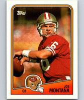 1988 Topps #38 Joe Montana 49ers NFL Football