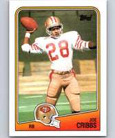 1988 Topps #42 Joe Cribbs 49ers NFL Football