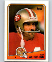 1988 Topps #46 Ray Wersching 49ers NFL Football