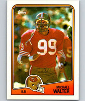 1988 Topps #49 Michael Walter 49ers NFL Football