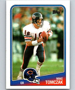 1988 Topps #70 Mike Tomczak RC Rookie Bears NFL Football