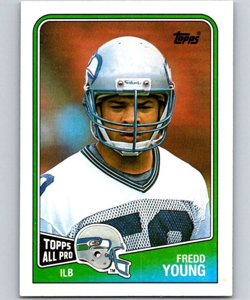 1988 Topps #143 Fredd Young Seahawks NFL Football