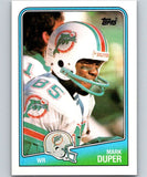 1988 Topps #193 Mark Duper Dolphins NFL Football