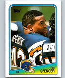1988 Topps #204 Tim Spencer Chargers NFL Football