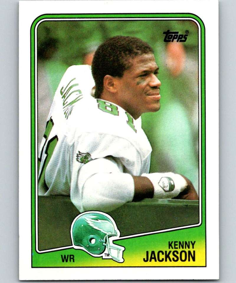 1988 Topps #238 Kenny Jackson Eagles NFL Football