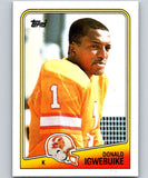 1988 Topps #357 Donald Igwebuike Buccaneers NFL Football