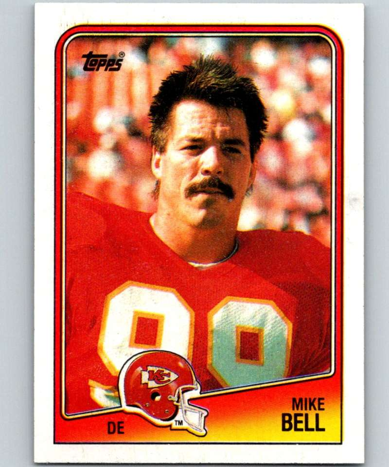 1988 Topps #369 Mike Bell Chiefs NFL Football