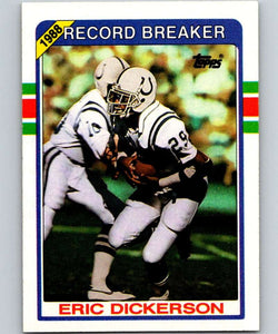 1989 Topps #3 Eric Dickerson Colts RB NFL Football