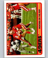 1989 Topps #6 Joe Montana 49ers TL NFL Football