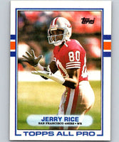 1989 Topps #7 Jerry Rice 49ers NFL Football
