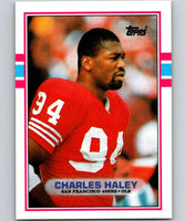 1989 Topps #11 Charles Haley 49ers NFL Football