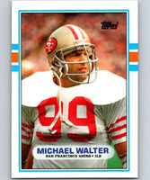 1989 Topps #14 Michael Walter 49ers NFL Football