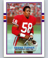 1989 Topps #18 Keena Turner 49ers NFL Football