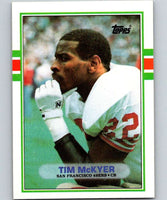 1989 Topps #19 Tim McKyer 49ers NFL Football