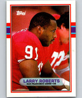 1989 Topps #20 Larry Roberts 49ers NFL Football