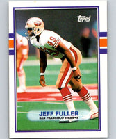 1989 Topps #21 Jeff Fuller 49ers NFL Football