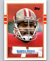 1989 Topps #22 Bubba Paris 49ers NFL Football