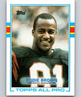1989 Topps #24 Eddie Brown Bengals NFL Football
