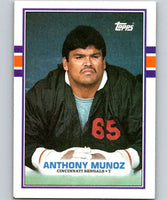 1989 Topps #28 Anthony Munoz Bengals NFL Football