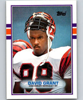 1989 Topps #31 David Grant Bengals NFL Football