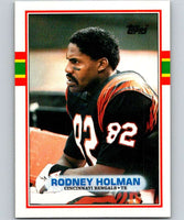 1989 Topps #32 Rodney Holman RC Rookie Bengals NFL Football