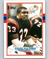 1989 Topps #33 David Fulcher Bengals NFL Football
