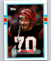 1989 Topps #34 Jim Skow Bengals NFL Football