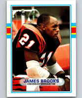 1989 Topps #35 James Brooks Bengals NFL Football