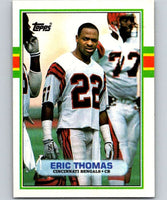 1989 Topps #37 Eric Thomas RC Rookie Bengals NFL Football