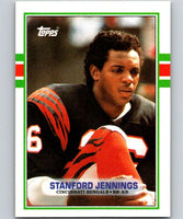1989 Topps #38 Stanford Jennings Bengals NFL Football