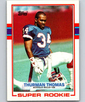 1989 Topps #45 Thurman Thomas RC Rookie Bills NFL Football