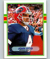 1989 Topps #47 John Kidd Bills NFL Football